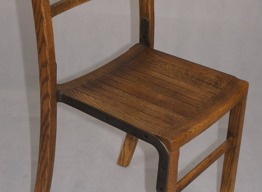 Sturdy oak chair - UK