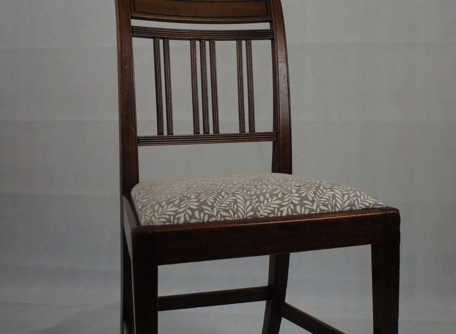 Set of 5 dining room chairs without backrest - Early 19 ° Century