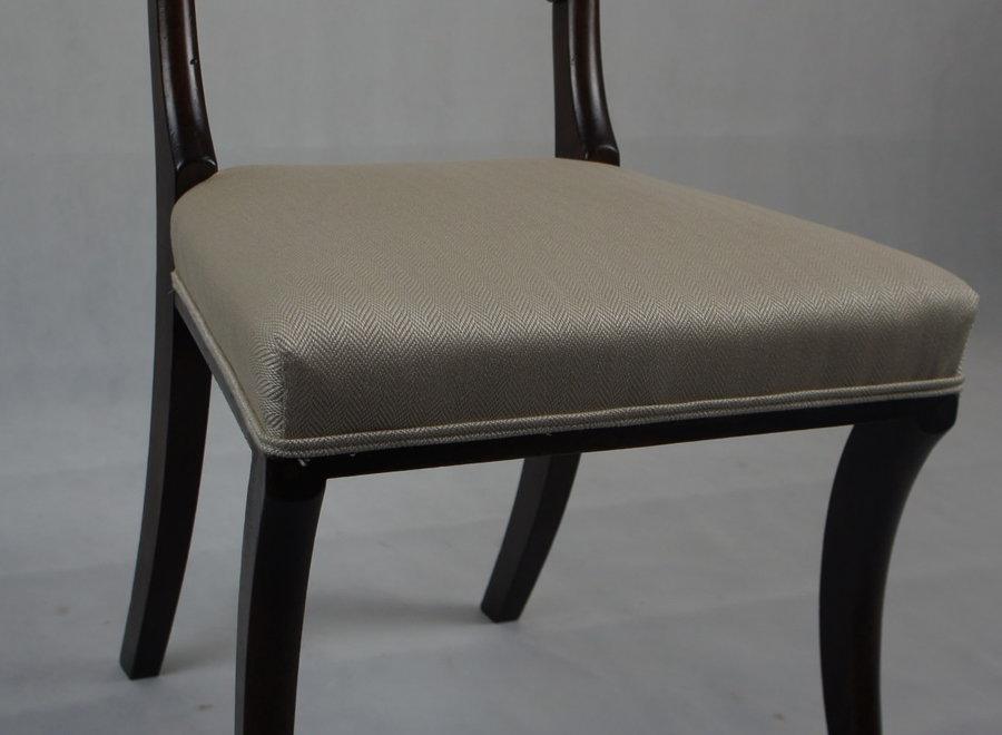 Set of 4 Regency chairs