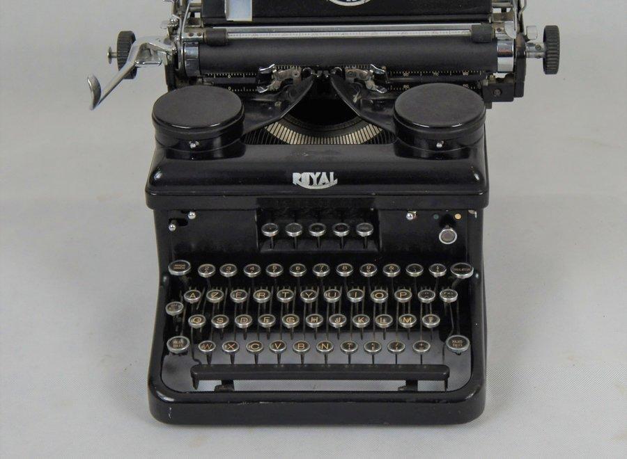 """Type H Typemachine """"Royal"""" - 1934"""