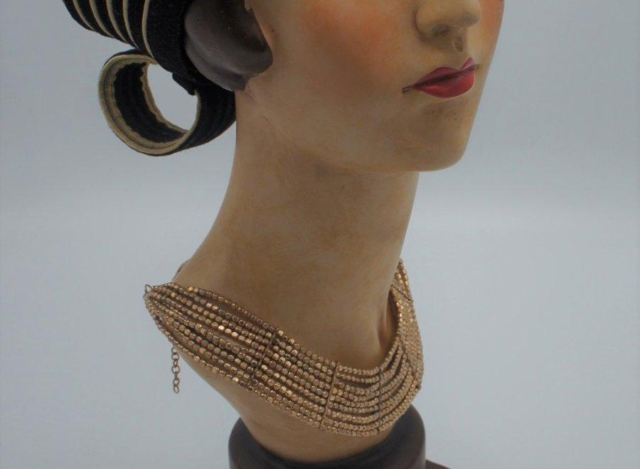 Retro mannequin head
