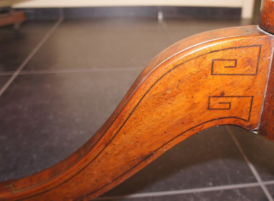 Rectangular table with nicely rounded corners - UK - Ca 1830
