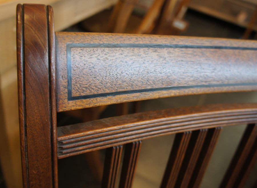 5 Mahogany chairs from the George III period - UK