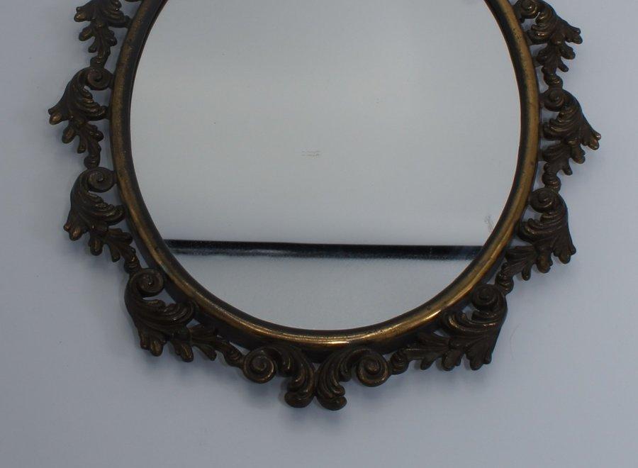Oval mirror Ca 1920 - Bronze
