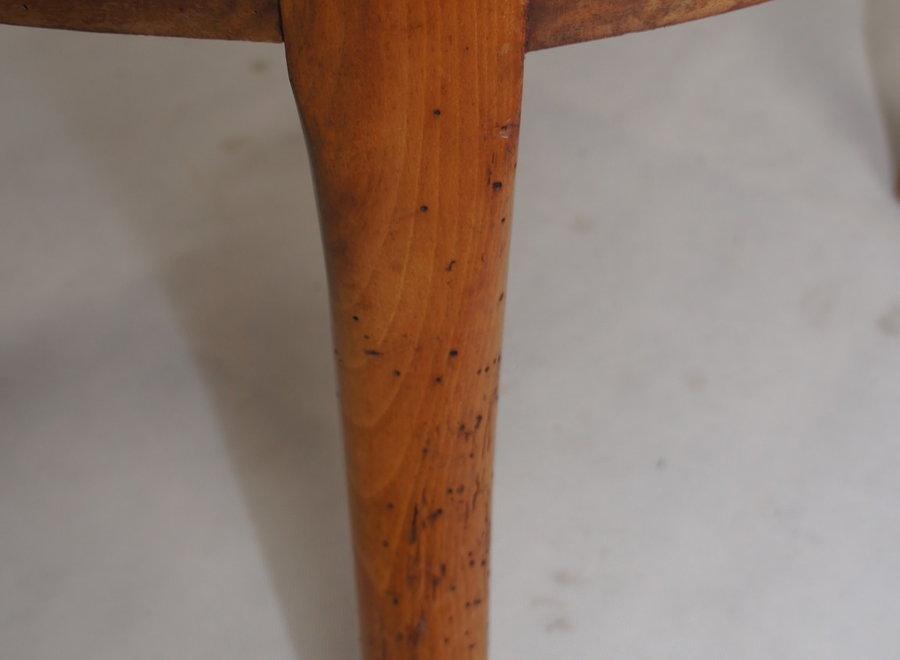 Franse armstoel in wortelnotenhout - Louis -Philippe