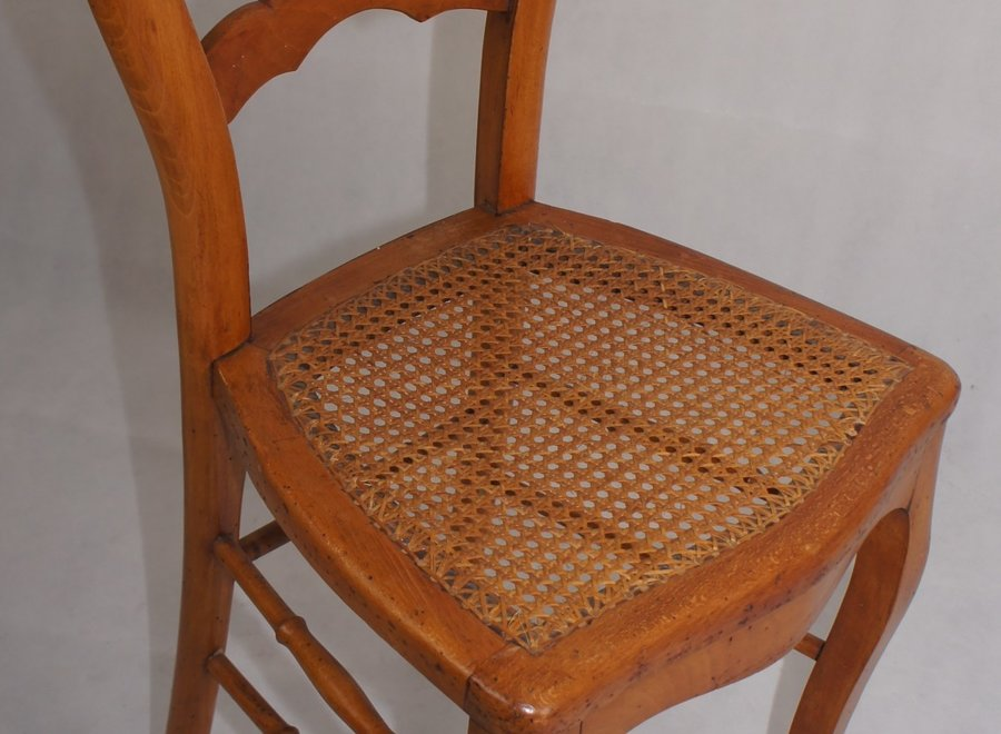 Mahogany dining room chair