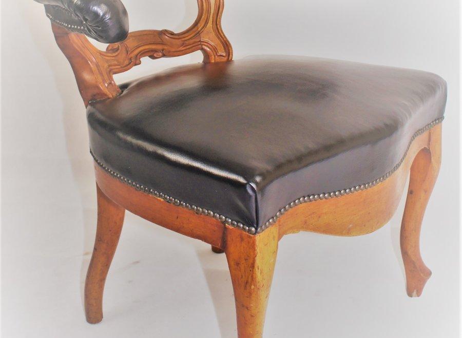 Bureaustoel - Chesterfield stijl