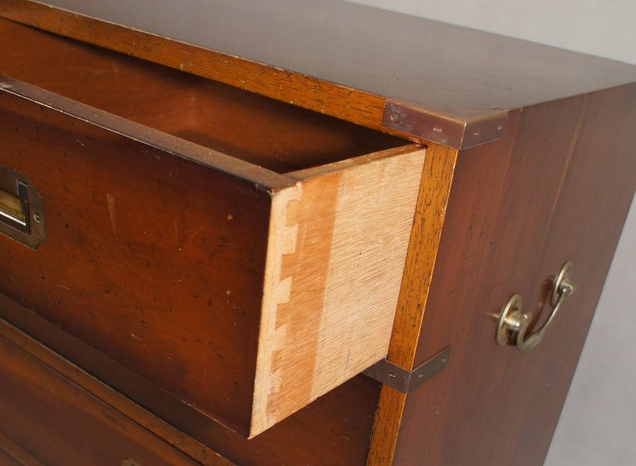 Marine chest of drawers with 2 small and 3 large drawers