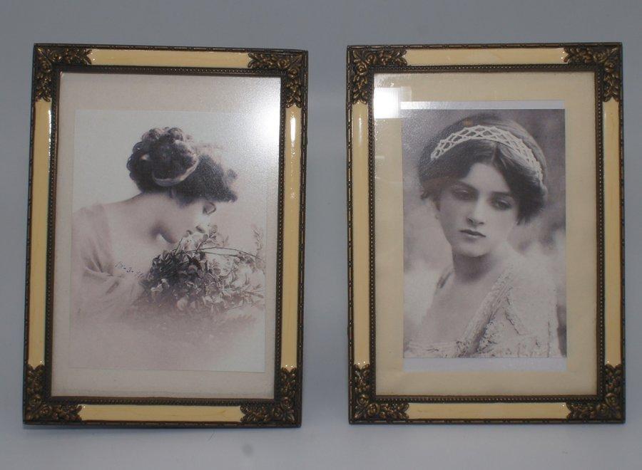 Set 2 vintage picture frames - 2nd half 20 ° Century