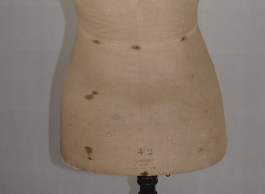 Mannequin Haute Couture - Begin 19° Eeuw
