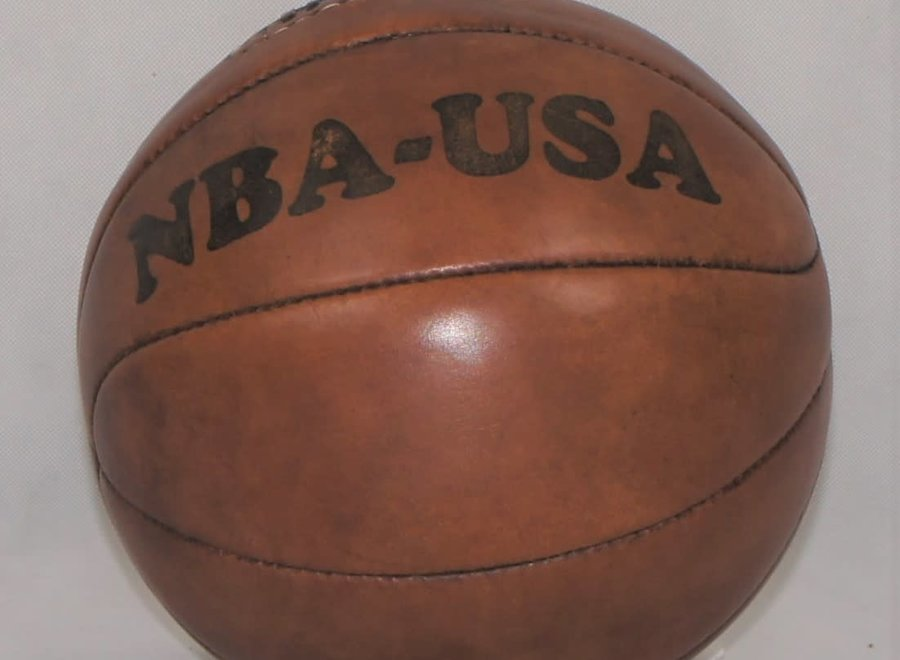 Leather NBA ball