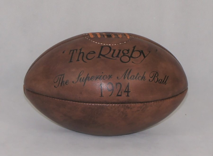 "Rugby ball - ""The Superior Match Ball"" - 1924"