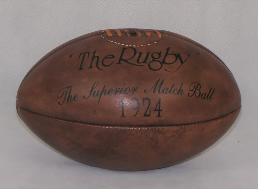 Vintage leather match ball J. Hoppkins and Sons London