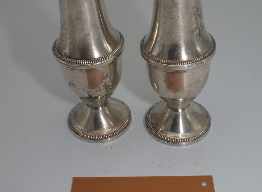 Set zilveren peper- en zoutstrooier - Duchin - Noord-Amerika