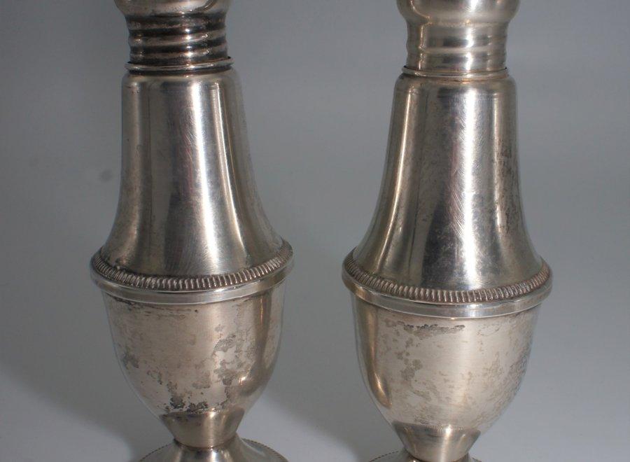 Peper- en zoutstel - sterling zilver - Duchin