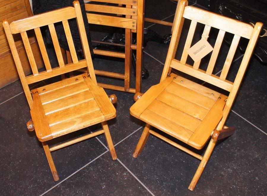 "Set of 2 children's folding chairs ""Torck"""