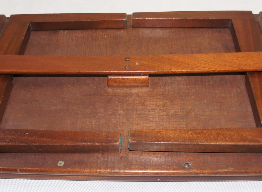 Mahogany lap tray - UK