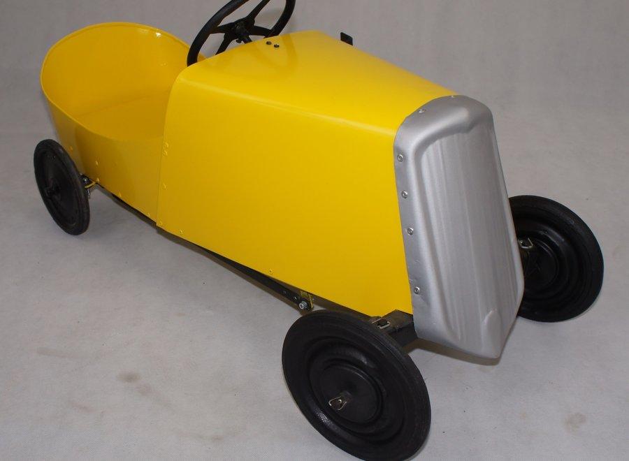 Vintage retro pedal car
