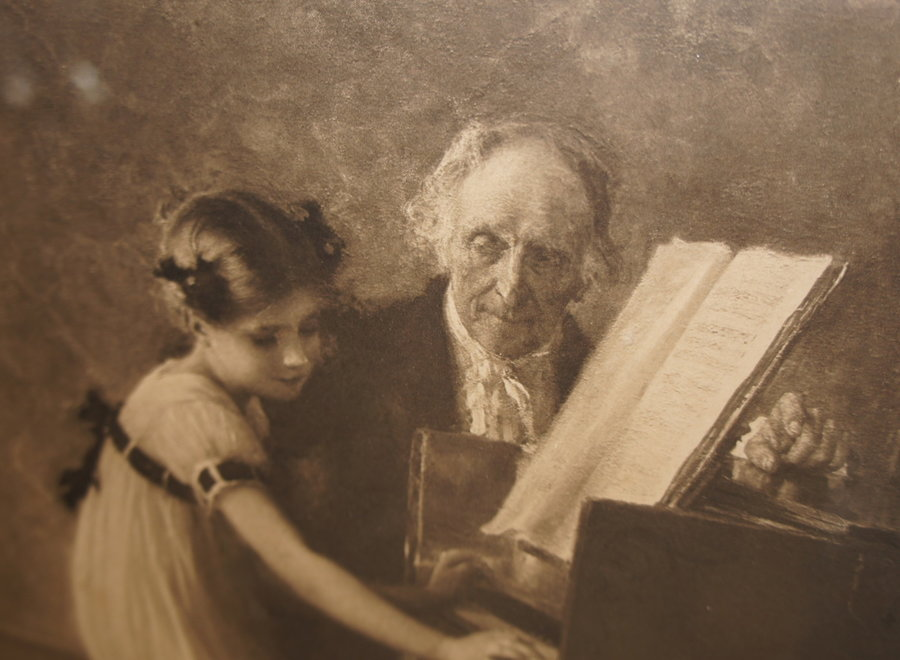 Chalcography of the etching of Jules-Alexis Muenier (1863-1942)