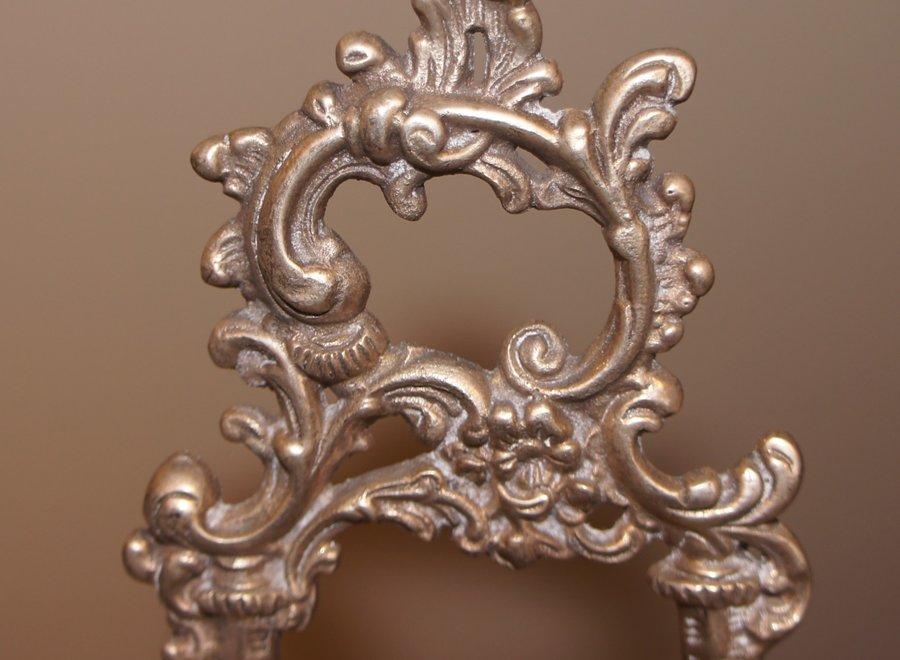 Beautiful asymmetric rococo standard