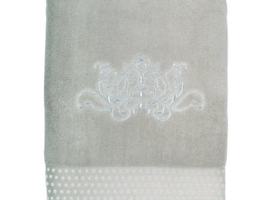 Soft bath towel - Arabesque - Linen color