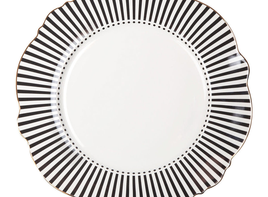 """Mathilde M"" Madame Récamier plate"
