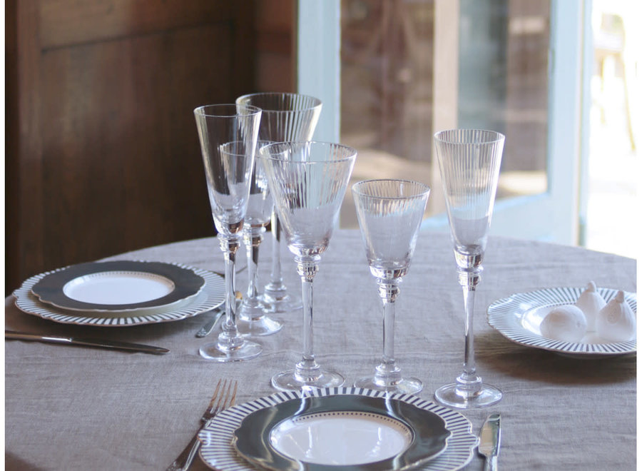 """Madame M"" Madame Récamier Water glass"