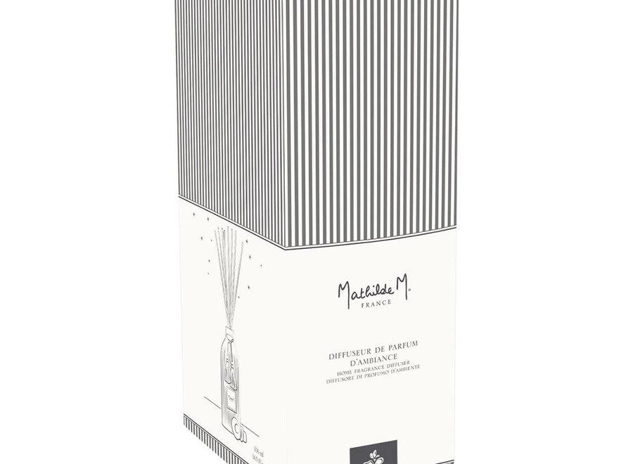 """""""Mathilde M"""" Diffuser for home perfume 500 ml -  Fleur de coton"""