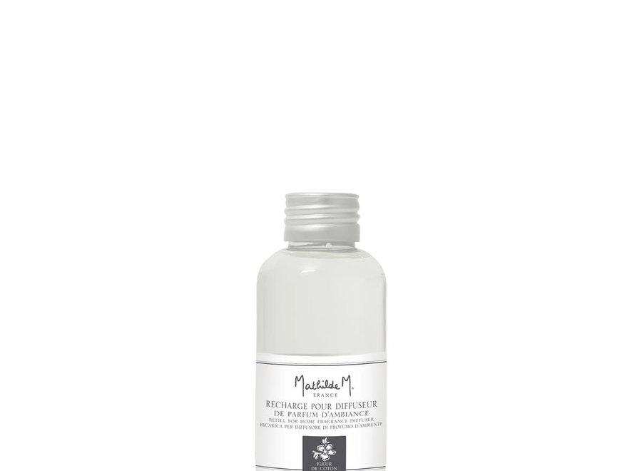 Navulling voor geurverspreider voor kamer 100 ml - Fleur de coton