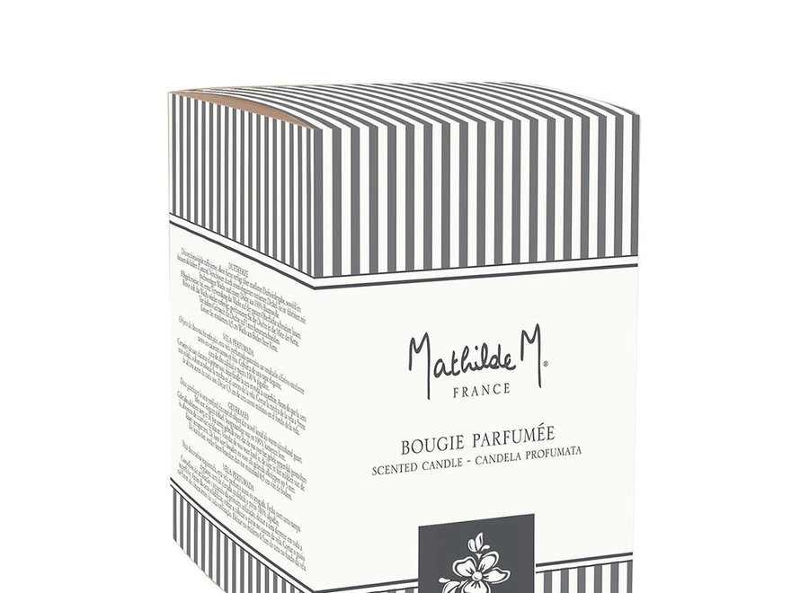 """""""Mathilde M"""" geurkaars 260 g - Fleur de coton"""