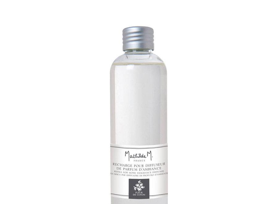 Navulling voor geurverspreider voor kamer 200 ml  - Fleur de coton