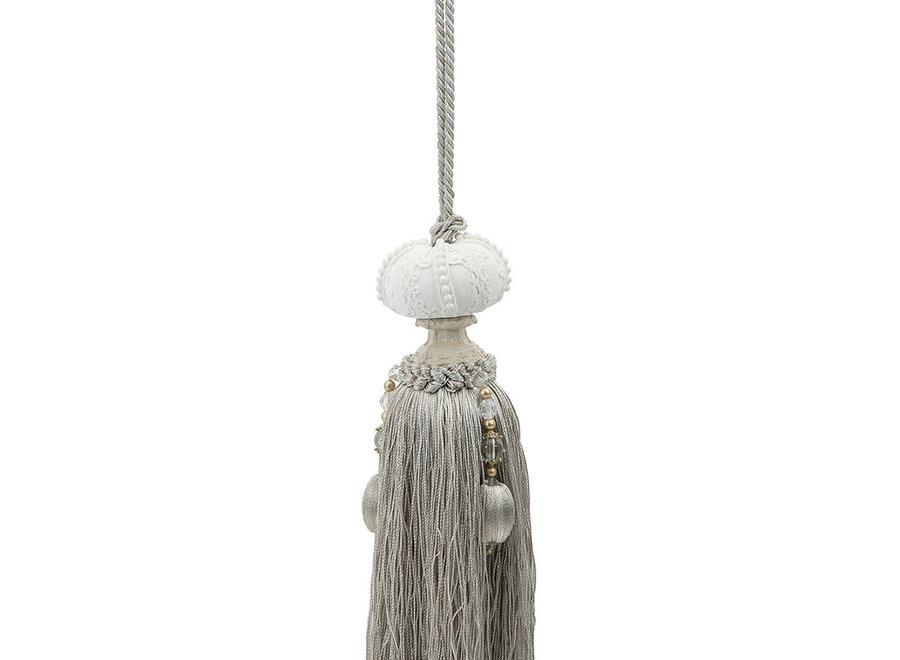 """Mathilde M"" pompom kastparfum - Fleur de coton"