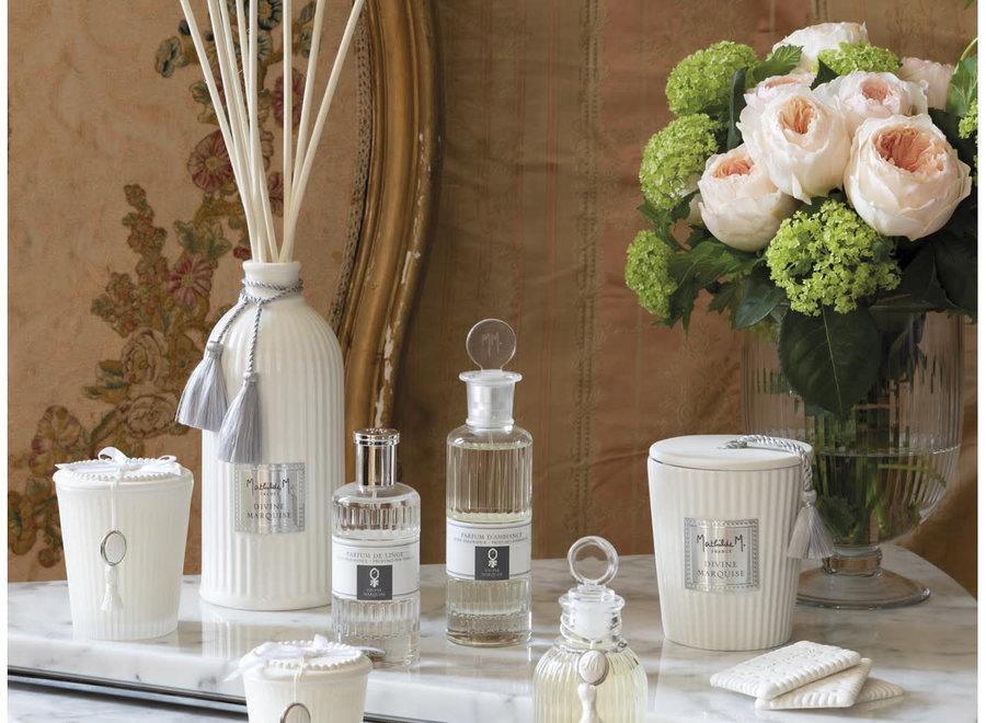 """""""Mathilde M"""" linen scent 75 ml  - Poudre de riz"""