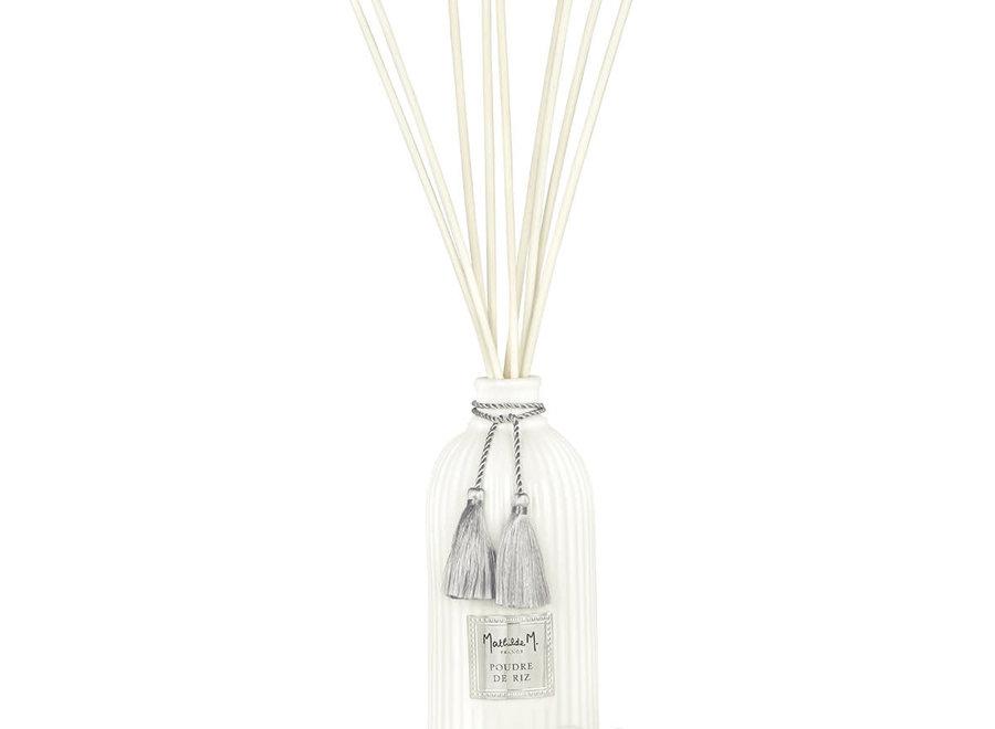 """Mathilde M"" Diffuser for home perfume 500 ml - Poudre de riz"