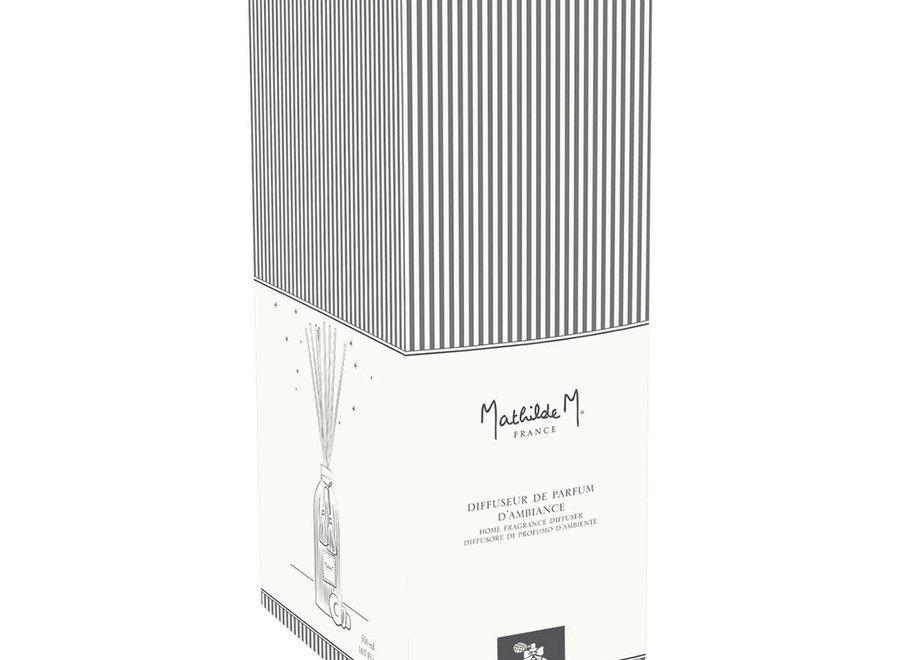 """Mathilde M"" Diffuser huisparfum 500 ml - Poudre de riz"