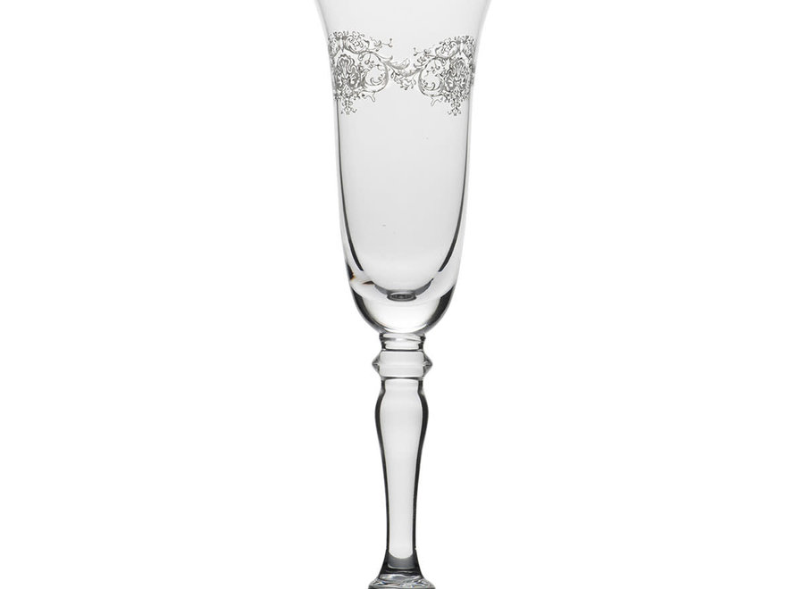"""""""Madame M"""" Champagne glass Marquise"""