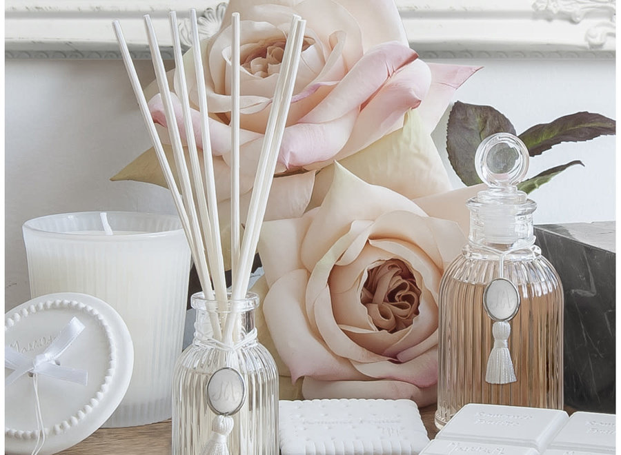 """Mathilde M"" Diffuser for home perfume 80 ml - Poudre de riz"