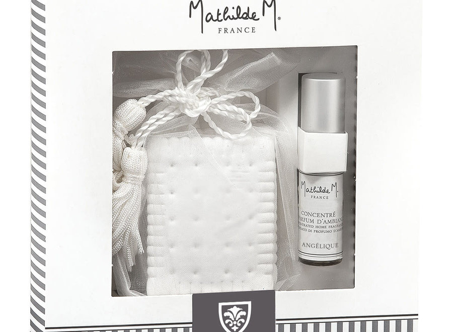 """Mathilde M"" wardrobe fragrance giftbox - Angélique"