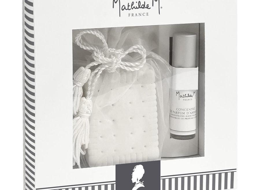 Les Intemporels geschenkset met geurdecoraties - Marquise