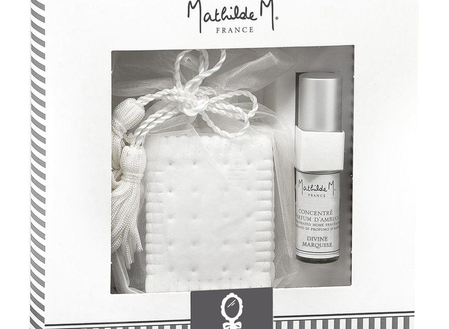 Les Intemporels giftbox of scented decorations - Divine Marquise