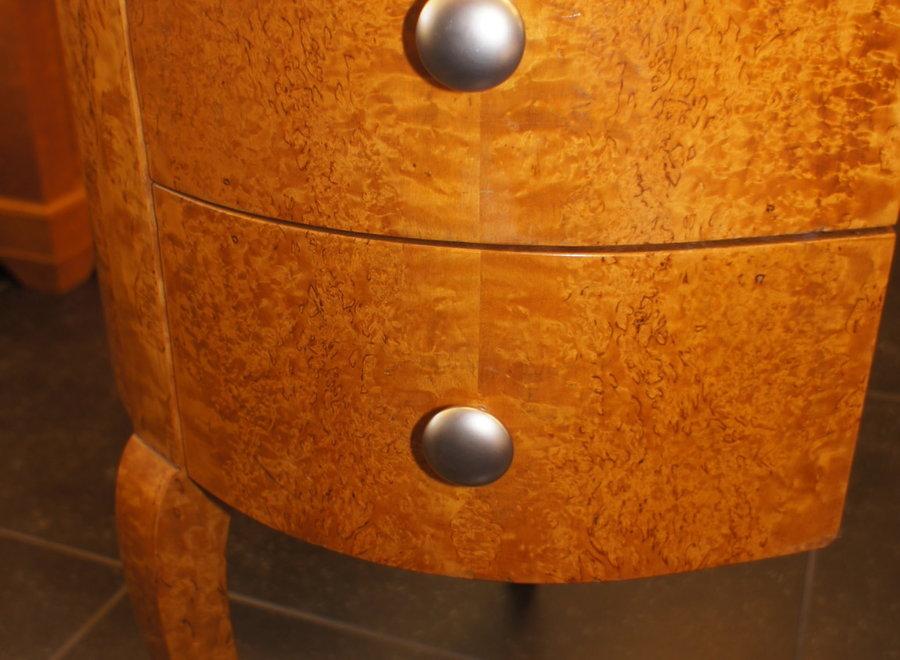 Elegant desk with matching chair - Maple veneer