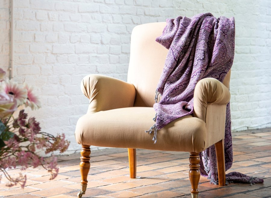 Armchair in English style