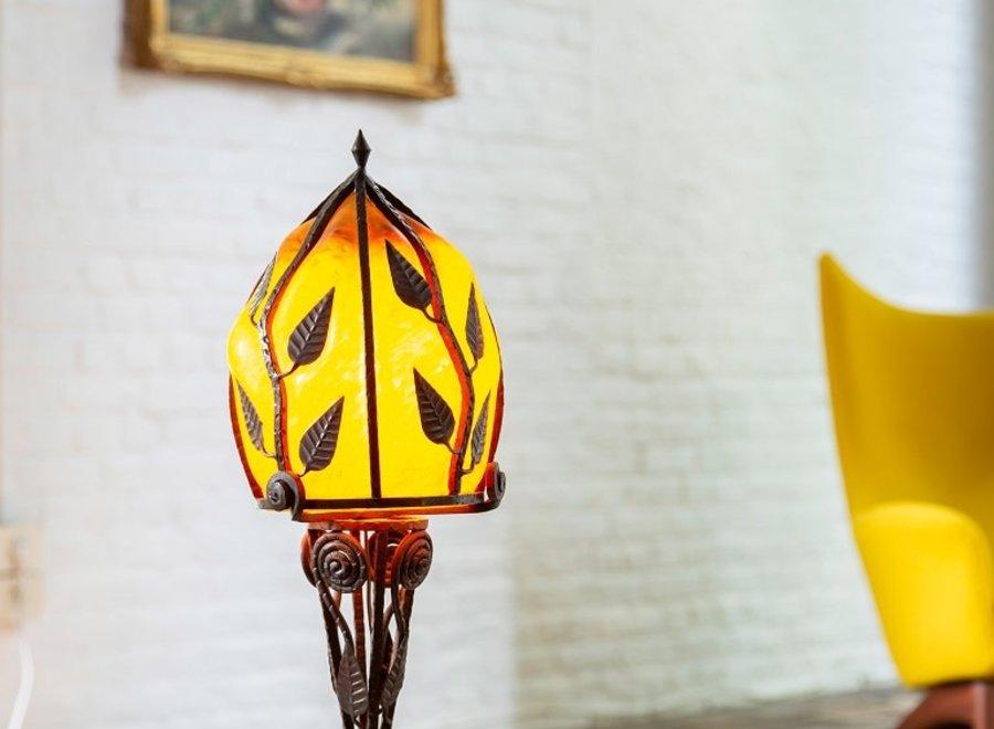 Art Nouveau champignonlamp Degué