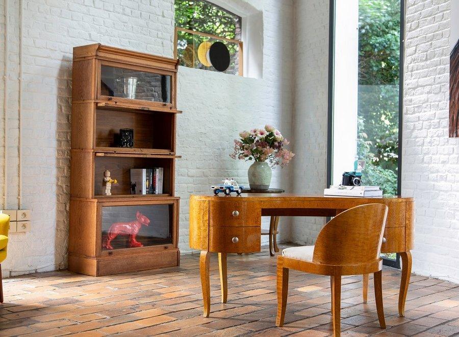 Elegant bureau met bijpassende stoel - Esdoorn fineer