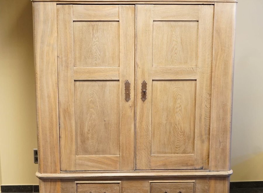 Large oak cabinet in provincial style