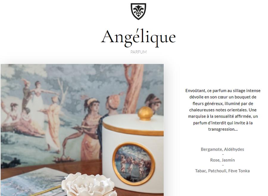 """Mathilde M"" scented candle 260 g - Angélique"
