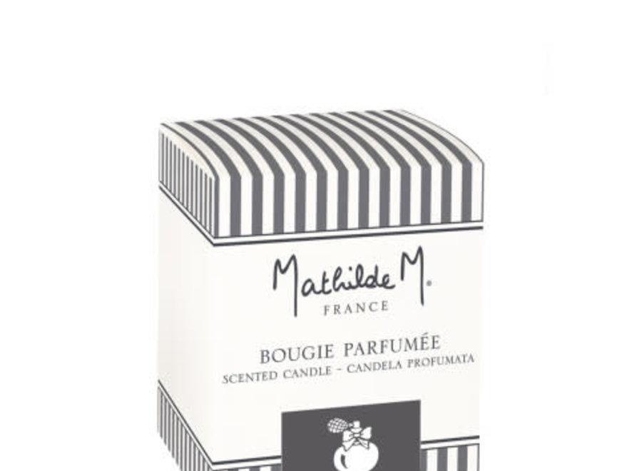 """Mathilde M"" geurkaars 55 g - Poudre de riz"