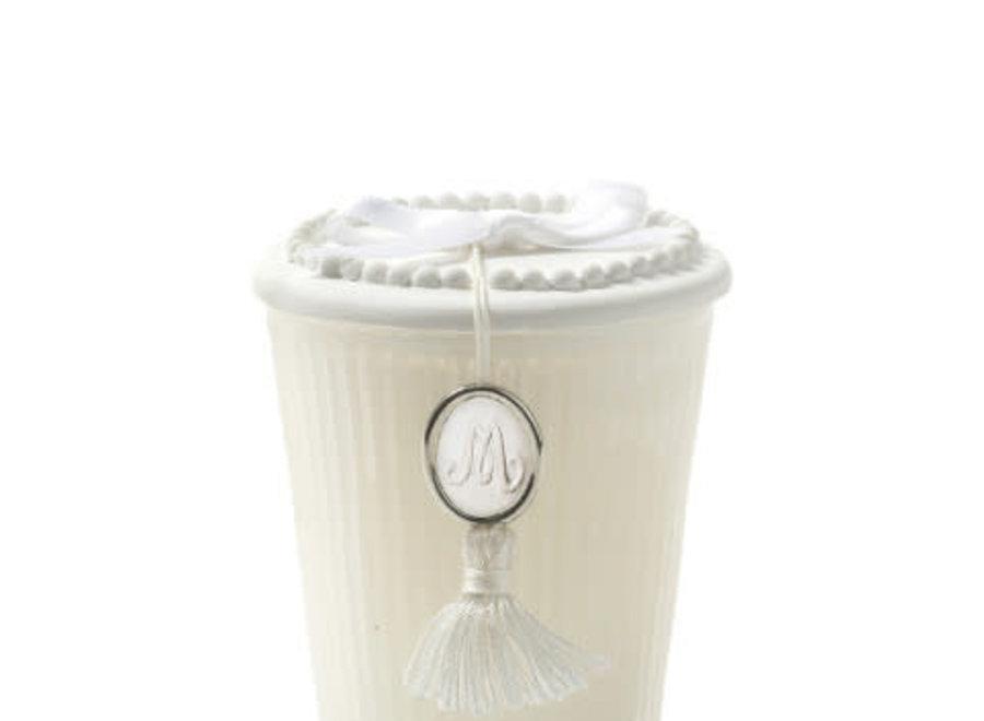 """""""Mathilde M"""" scented candle 55 g - Poudre de riz"""