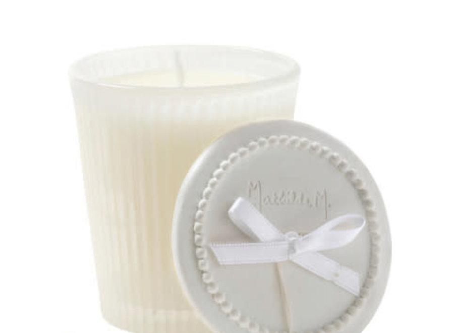 """""""Mathilde M"""" scented candle 125 g - Poudre de riz"""