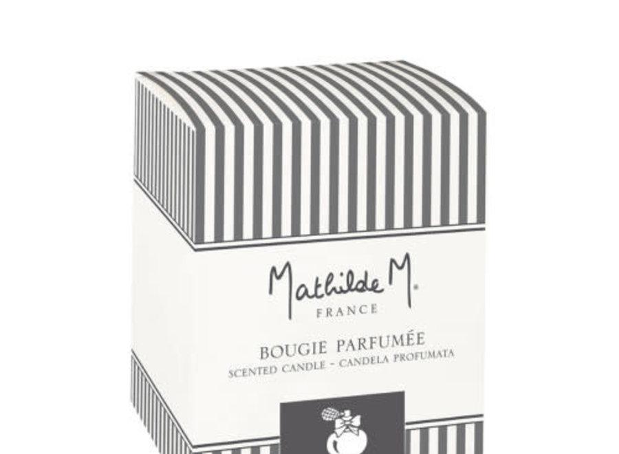 """Mathilde M"" geurkaars 125 g - Poudre de riz"